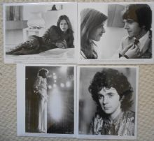 4 Original Stills from a David Essex film, 1970s